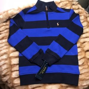Ralph Lauren Little Boys Striped Cotton Pullover